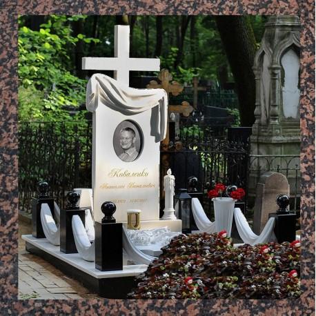 Пам'ятники надгробні габро, гранітні, мармурові в Києві і Київській області