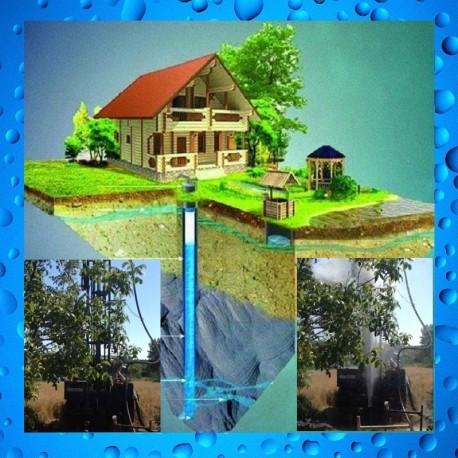 Бурение гидрогеологических, артезианских скважин на воду