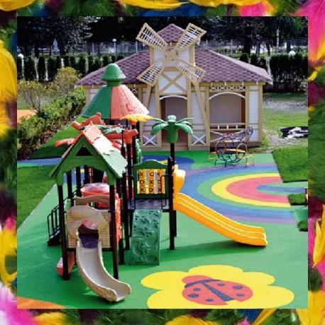 Детские игровые спортивные площадки