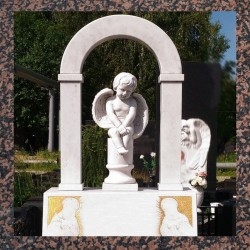 Памятники надгробные гранитные, мраморные, габро