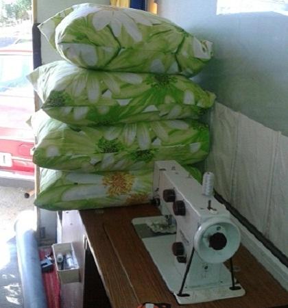 Чистка пера Реставрация и чистка подушек