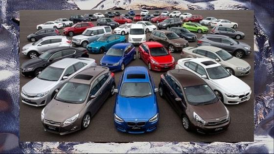 Легковые автомобили из Европы, США, Канады