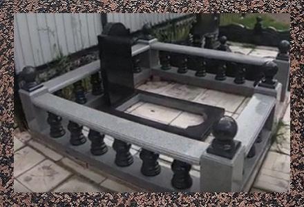 Пам'ятники із камня габро у Вінниці