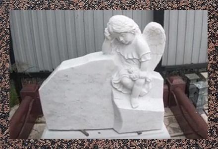 Пам'ятники надгробні мармурові