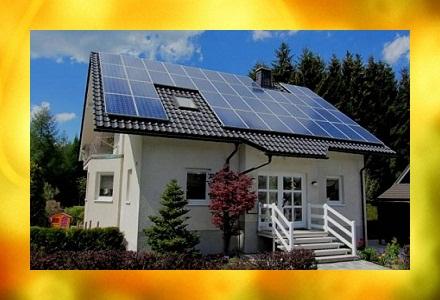 Сонячні панелі для дому