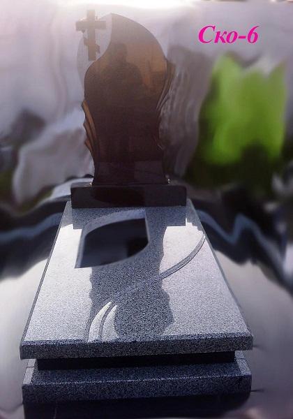 Пам'ятник із граніту габро Рівне
