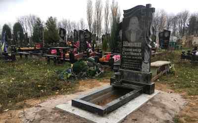 """Вінниця """"Обеліск-рітуал"""" Надгробні пам'ятники з граніту, грануліту і бетону"""